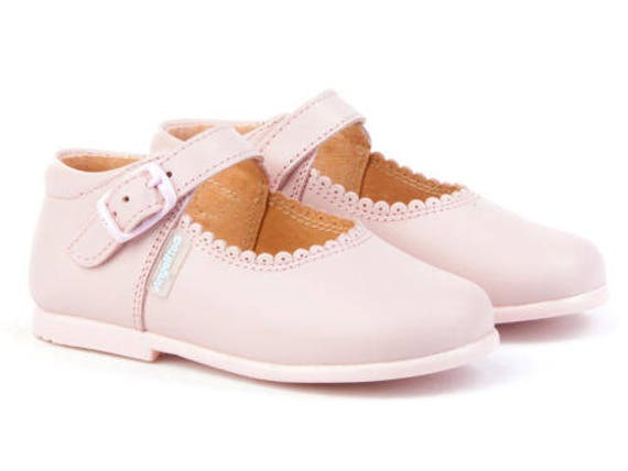 Walker shoes Pink Mary janes leather