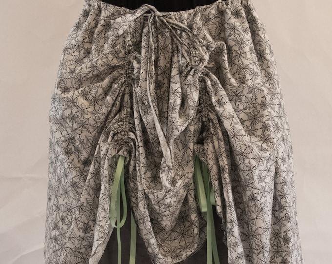 Spiderweb Bustled Skirt