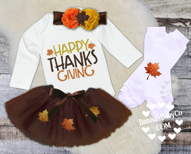Bodysuit Baby Girl Happy Thanksgiving Opt Set First Thanksgiving Shirt Girls Thanksgiving Clothes Girls/' Thanksgiving Outfit