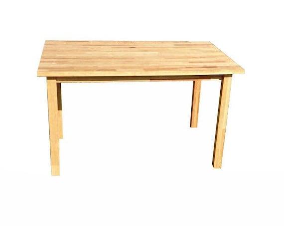 Mesa de comedor madera maciza de abedul