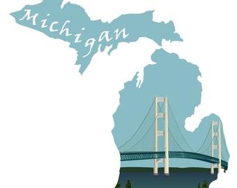 Michigan: Mackinac Bridge