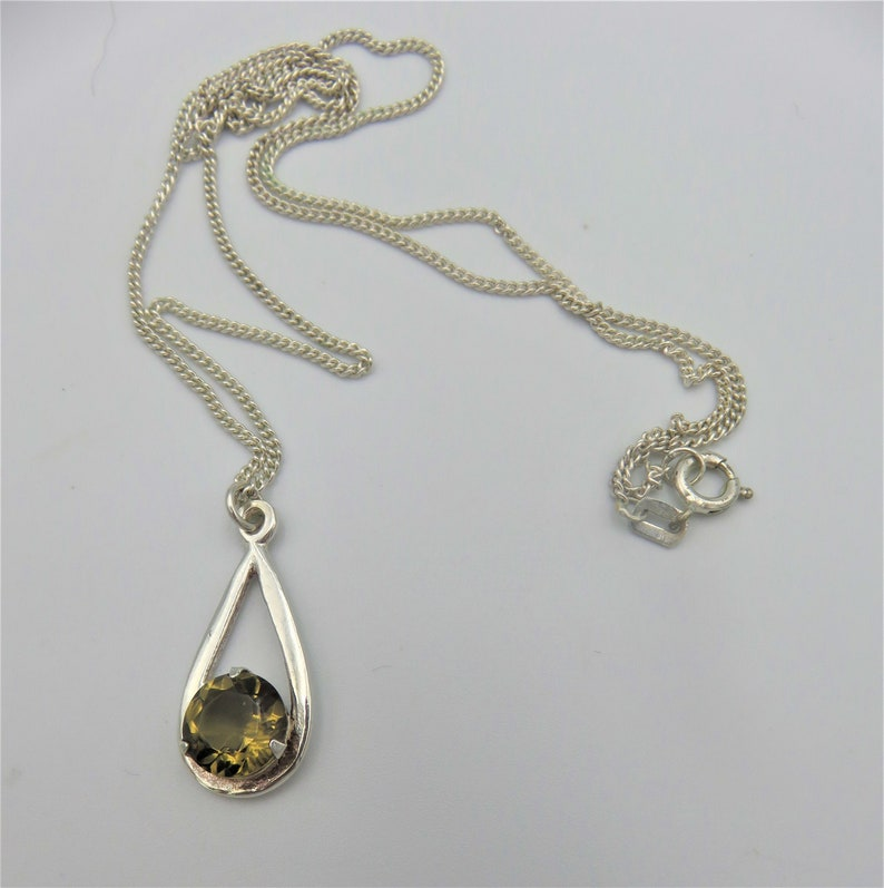 925 STERLING SILVER THISTLE SHAPE PENDANT NECKLACE WITH SEPTEMBER BIRTH STONE