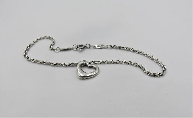 f23289c06 Vintage Tiffany & Co Elsa Peretti Open Heart Sterling Silver | Etsy