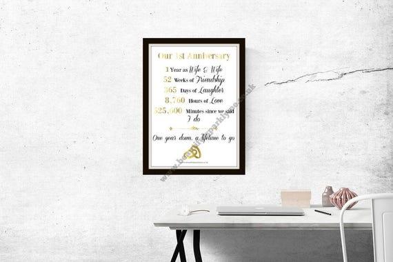 Lesben Ersten Hochzeitstag Geschenk Papier Geschenk Zum Ersten Jahrestag Sofortiger Download