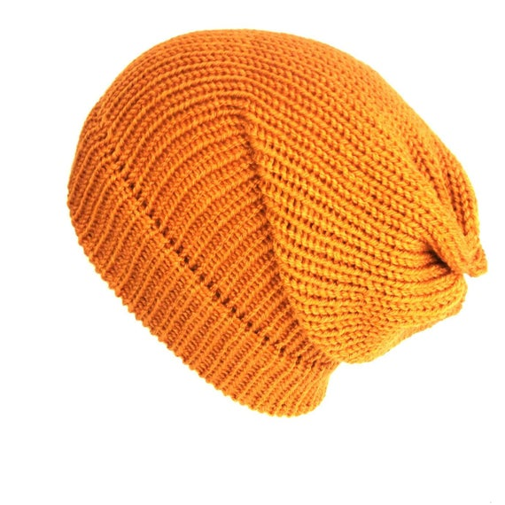 440b8f21798 Golden mustard yellow hat soft vegan slouchy beanie ladies