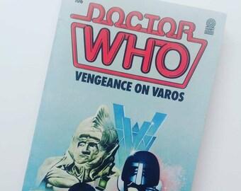 Doctor Who Vengeance On Varos Vintage Book