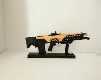 Customized Replica inspired in Blind Perdition, 3D printed gun 21.5 cm (8.4 in.)