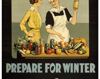 Vintage WWII Kitchen Waste War Materials British WW2 Poster Re-Print A4 2W90