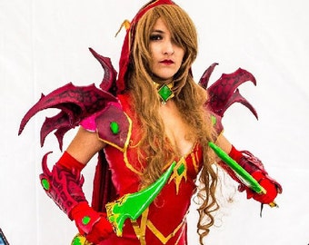 READY TO SHIP Cosplay Hearthstone inspired Valeera Sanguinar e979499a2aa