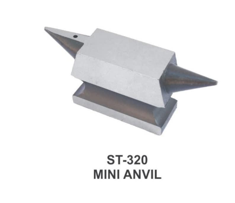 PARUU\u00ae Professional Mini Jewelers Double horn Anvil for precision work st320