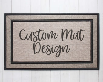 Custom Doormat, Custom Welcome Mat, Custom Home Decor, Custom Design,  Personalized Doormat, Personalized Home Decor, Custom Gifts