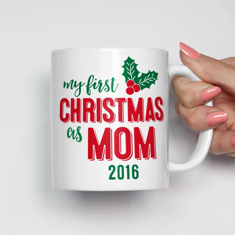 Mom Christmas Mug Mom Christmas Gift New Mom Mug Mom Coffee   Etsy