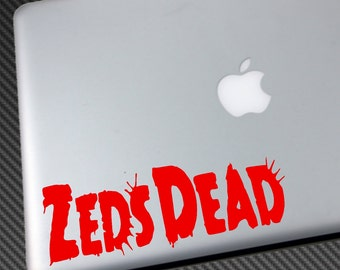 a538f08f9c3 ZEDS DEAD Vinyl Decal - Car Sticker macbook laptop wall shirt hat poster  music dj edm dubstep skrillex nero borgore flosstradamus trap