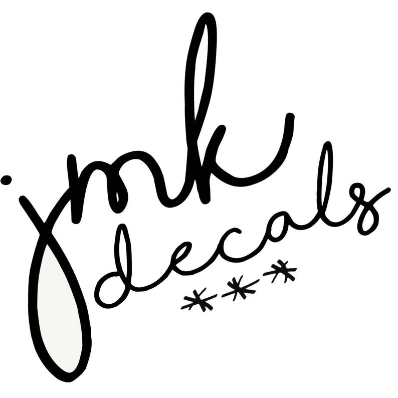 Custom Order or RUSH/Additional Upgrade for JMK DECALS shop image 0