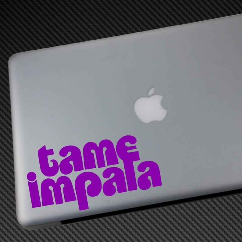 TAME IMPALA Vinyl Decal  Car Sticker macbook laptop wall image 0