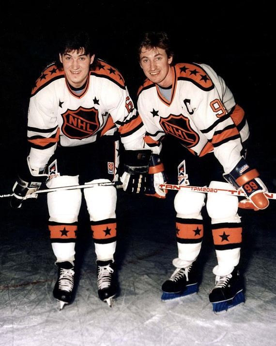 on sale dd5bb 59035 Mario Lemieux & Wayne Gretzky All-Star Photo 16X20