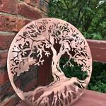 Tree of Life Classic, Woodland Decor, Tree Wall Art, Metal art, Rustic Decor, Lake House Decor, Yoga Art