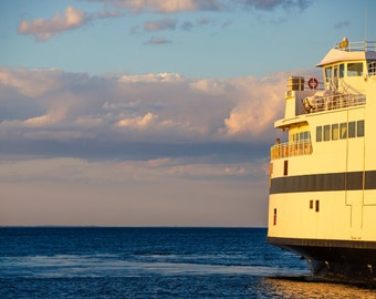 New England photography, Martha's Vineyard Ferry Boat