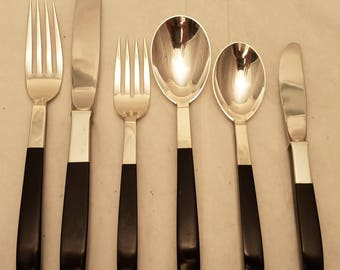 Sterling Flatware Set With by Lunt Setting for Eight