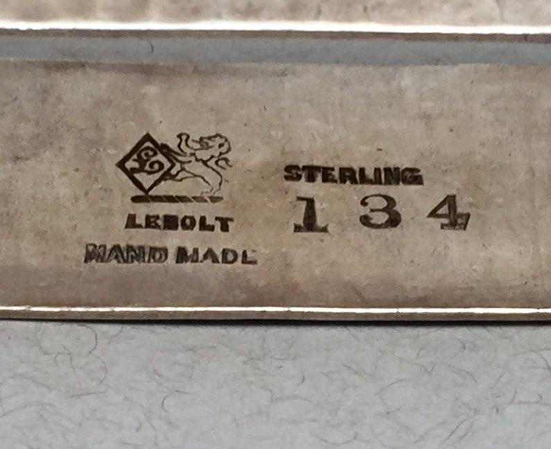 LeBolt Sterling Silver Napkin Holder P