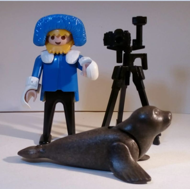 PLAYMOBIL animal Photographe  3466  Vintage 1985  without box and instructions.