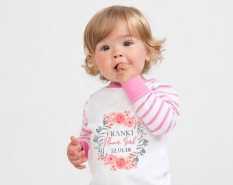 Personalised Flower Girl Pyjama PJ s Set Wedding Gift 22704f50d