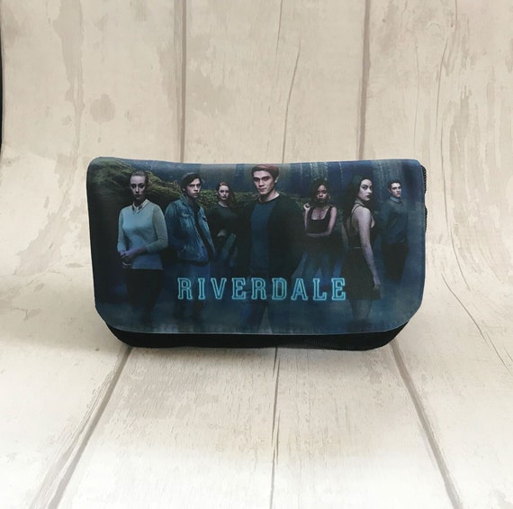 Personalised Riverdale Pencil Case Make Up Bag Southside Serpents Betty Veronica Jughead Jones Archie Cooper Vixens Bag TShirt