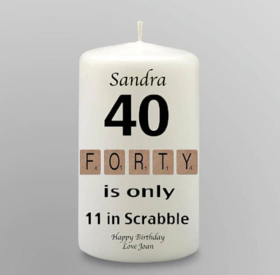 Happy 80th its only 13 in Scrabble Printed Mens Black Socks 80th Birthday Gift