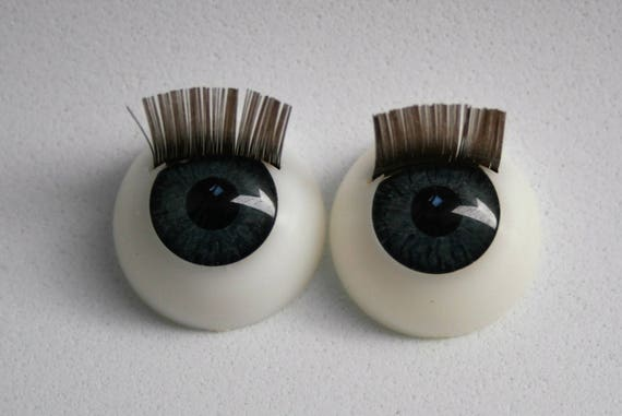 Bjd doll acrylic eyes 10 mm 4 pairs brown reborn dollfie msd yosd minifee crafts