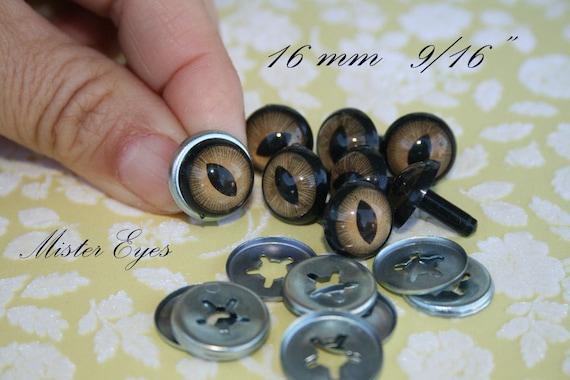 24 mm Safety eyes for stuffed animal toy amigurumi crafts teddy bear plush