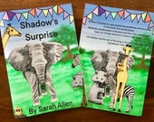 Shadow's Surprise Story Book. WIPEABLE and NON-TEARABLE paper. A5, Help your child learn about emotions with this storybook