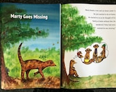 Marty Goes Missing Story Book. WIPEABLE and NON-TEARABLE paper. A4. Help your child learn about emotions with this storybook