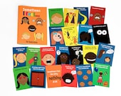 SALE! Sometimes I feel...' book and flash cards set. WIpeable and Non-Tearable paper. Help your child learn about and express their feelings
