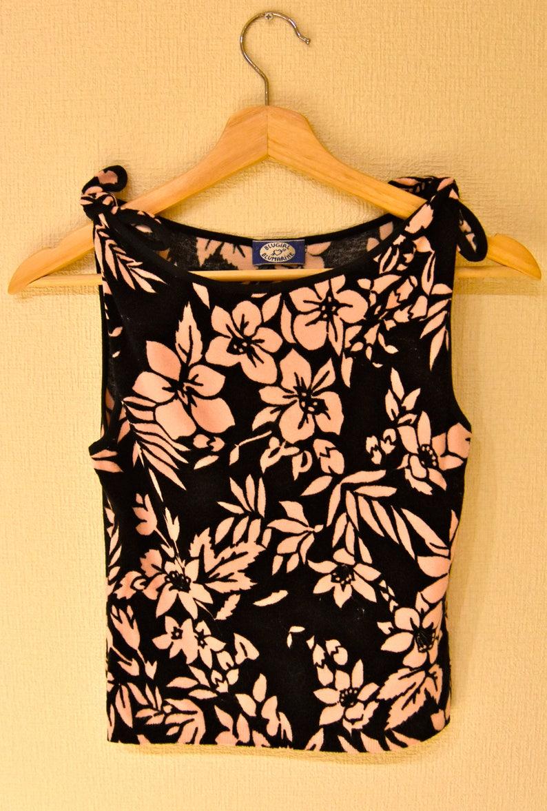 34e31b788fcfaf Designer Clothing BLUMARINE BLUGIRL Pink Floral Flower Floral | Etsy