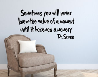 Popular Items For Dr Seuss Wall Decals