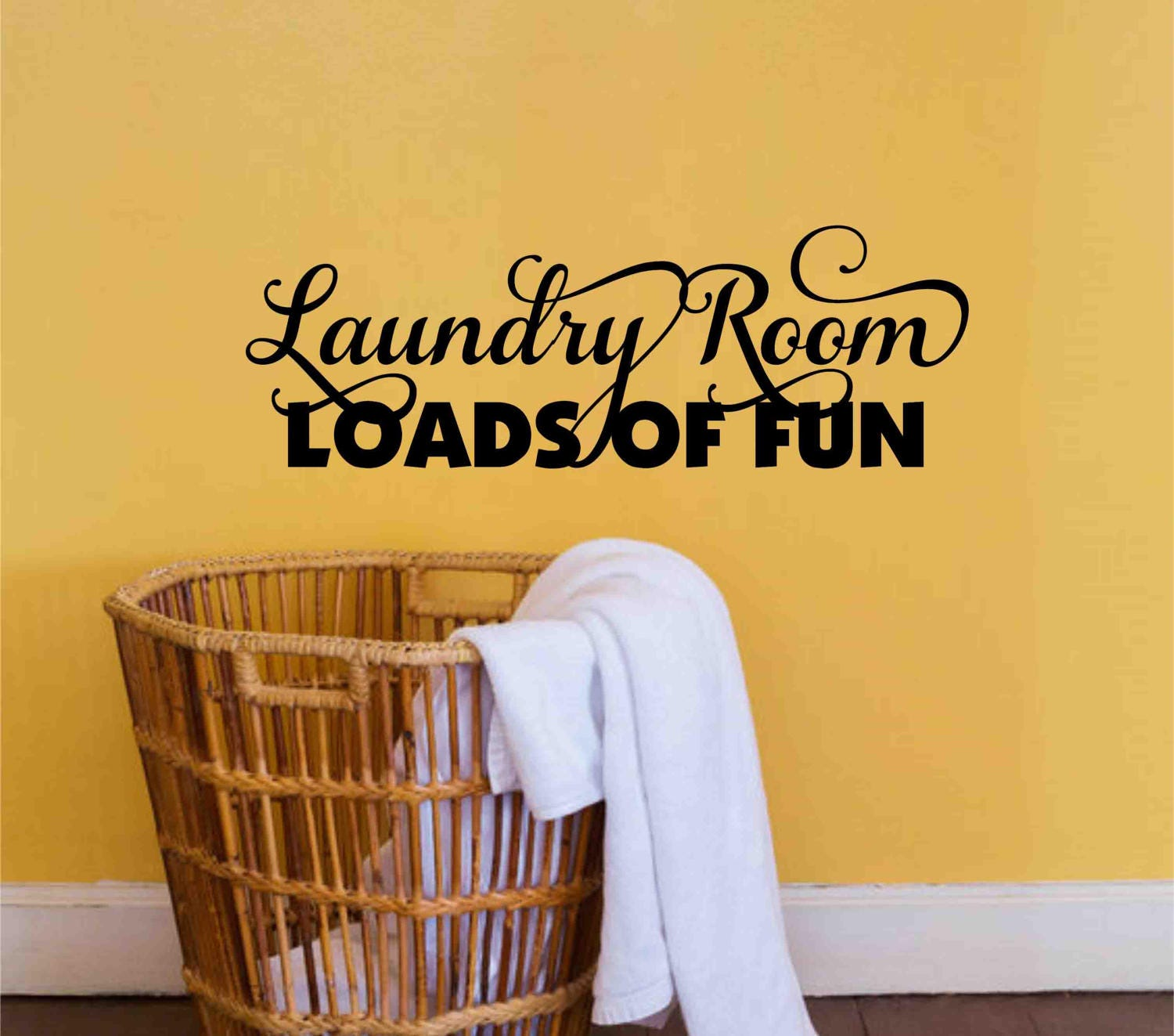 Laundry Room Decal Loads of Fun Wall Sticker-Laundry Room | Etsy