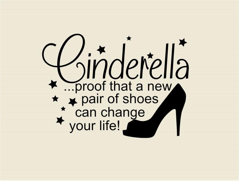 Prueba de que un nuevo par de zapatos-Cenicienta pared  410a869496ef