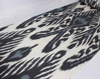 Cotton Fabric,Hand Woven Fabric,XB 734. Ikat Upholstery Fabric,Ikat Ikat Fabric By The Yard National Cloth Cotton Ikat Fabric