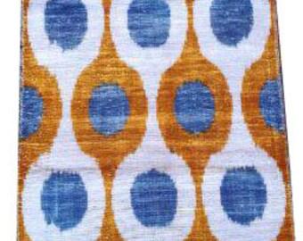Hand Woven Fabric Silk Velvet Fabric,Velvet Upholstery Fabric,Uzbek national cloth,Silk Velvet V 96