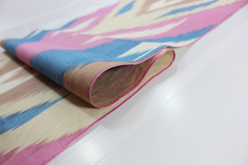 Ikat Fabric By The Yard National Cloth Cotton Fabric,Hand Woven Fabric,XB 654. Cotton Ikat Fabric Ikat Upholstery Fabric,Ikat