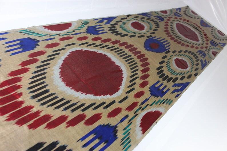 Silk Fabric,Hand Woven Fabric,FB 834. Ikat Upholstery Fabric,Ikat Ikat Fabric By The Yard Silk Ikat Fabric