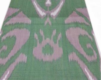 Cotton Ikat Fabric, Ikat Fabric By The Yard, Ikat Upholstery Fabric, Ikat, National Cloth, Cotton Fabric, Hand Woven Fabric. XB882
