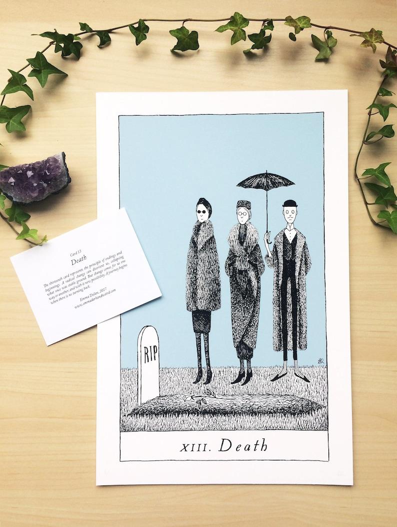Card 13: Death image 0