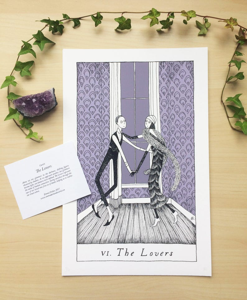 Card 6: The Lovers image 0