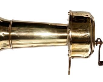 Rare Krakfort Hand Cranked Antique Warning Signal - Avertisseur d'usine  - France early 1900s