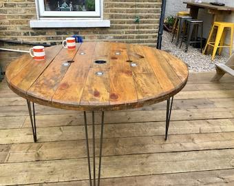 Large Bespoke Dining Garden Table