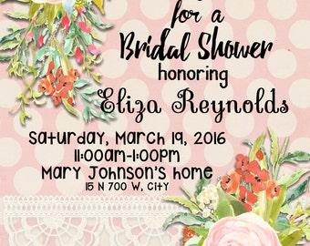 Eliza Bridal Shower Invite