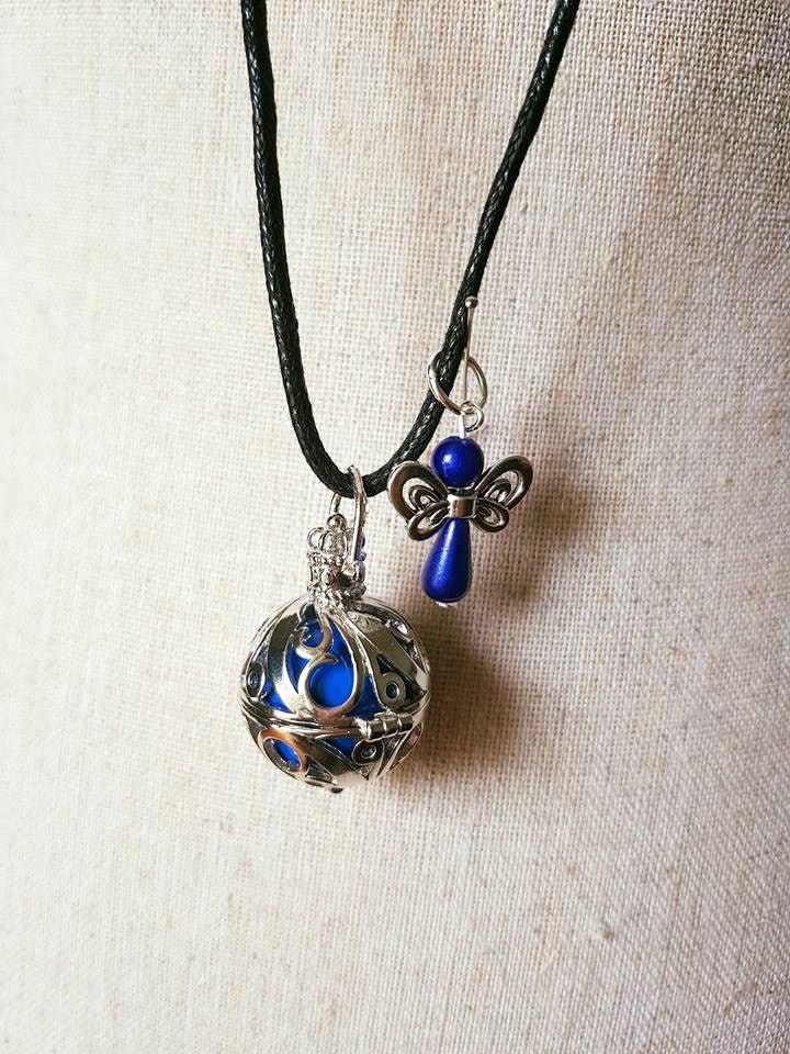 collier sautoir bola de grossesse mexicain petit ange. Black Bedroom Furniture Sets. Home Design Ideas