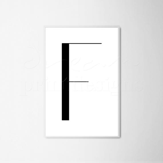 picture relating to Letter F Printable identify Printable Letter F, Scandinavian Poster, Nordic Print, Nordic Letter Poster, Uppercase Letter F, Minimalist Letter, Revolutionary Letter Print