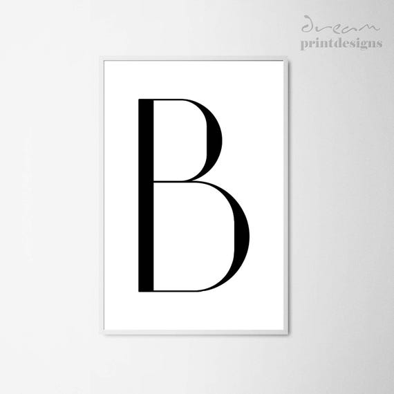photo about Printable Letter B identified as Letter B Printable Poster, Scandinavian Poster, Letter B Print, Minimalist Letter Poster, Letter B Poster, Printable Letter, Impressive Wall Artwork